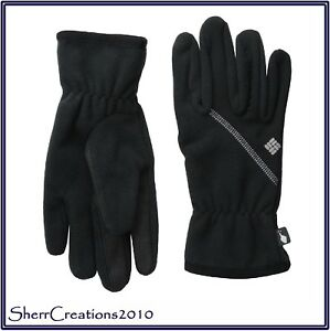 NWT Columbia Women's Wind Bloc Gloves Thermal Reflective Lining Tech Touch