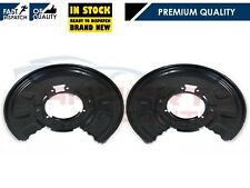 FOR BMW 3 SERIES E46 X3 E83 00-06 REAR BRAKE DISCS PLATE COVER SHIELD SET 320mm