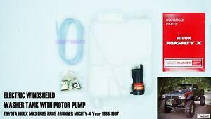 Windshield Washer Tank Bottle Pump For Toyota Hilux 4Runner LN105-106 LN85 89-97