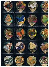 KRD CH Serie  Nr.  8 D Schmetterlinge Riegel