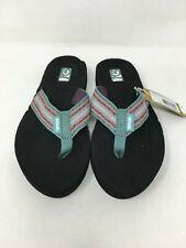 TEVA Women's Mush II Flip flop Thong Sandals Color Zoey Teal Size: 5 US