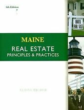 Maine Real Estate : Principles and Practices by Elaine Richer (2007, Paperback,
