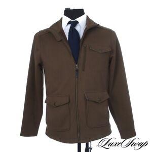 #1 MENSWEAR Genuine Filson Garment Olive Green Microfiber Knit Weekend Jacket S