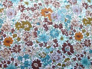 .100 % cotton  multicolored floral