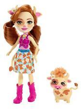 Enchantimals ~ Cailey Cow Doll & Curdle Pet