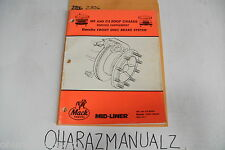 CR 1988 MACK TRUCK BENDIX MS & CS 200P Chassis Service Manual Supplement