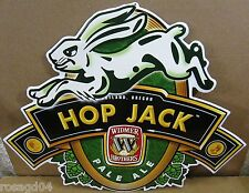 """Hop Jack"" Widmer Brothers Portland Oregon Pale Ale Beer Tin/Metal Wall Sign 24"""