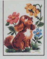 Puppy Needlepoint Canvas