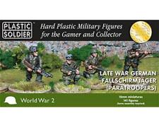 Late War German Fallschirmjager 15mm by Plastic Soldier Company (h6o)