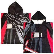 Star Wars Hooded Towel Kylo Ren Toddlers Kids Boys Poncho Kids Bath Beach Pool