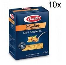 10x Barilla Pasta Piccolini mini Farfalle Pasta 500 g pack
