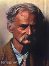 1937 Vintage Print FARMER PORTRAIT Old Man Photo Engraving Art PAUL OUTERBRIDGE