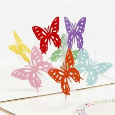 Birthday Gift  Up Greeting Card Valentine Gift Greeting Card 3D Butterfly