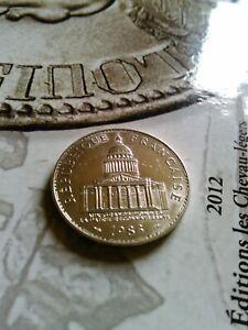 100 francs PANTHEON Argent de 1983 en TTB / SUP