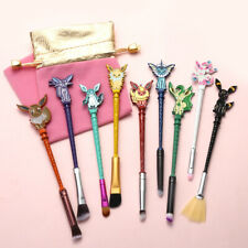 Anime Pokemon Go Eevee Make up Brushes Cosmetics Makeup Tool Brush Gift 9pcs Set