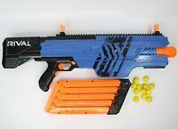 NERF Rival Khaos MXVI-4000 Blaster Gun Blue with 12 Foam Balls