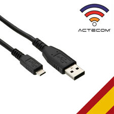 ACTECOM® Cable Datos carga USB 2.0 MICROUSB Cargador Para PC Mac desktop netbook