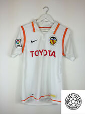 VALENCIA 07/08 Home Football Shirt (S) Soccer Jersey Nike