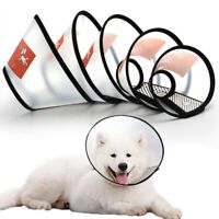 Pets Protective Recovery Collar Dog Neck Cone Anti-Bite Surgery Wound Healing
