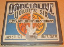 Garcialive, Vol. 6: July 5/1973 - Lion's Share [Digipak] by Jerry Garcia 3 Discs