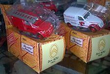 NOREV HACHETTE CITROEN 2CV AZU ALLO 18 The Firefighters 1955 New + shell + box