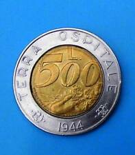 San MARINO 500 LIRE 1991
