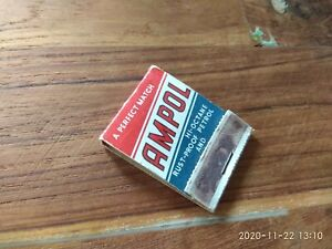 Ampol Matches from 50's till 60's