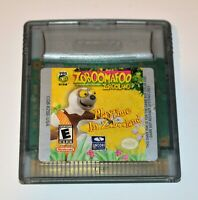 ZOBOOMAFOO: PLAYTIME IN ZOBOOLAND NINTENDO GAMEBOY COLOR GBC GAME