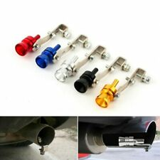 1*Blow Off Valve Noise Turbo Sound Whistle Car Accessories Simulator Muffler Tip