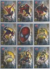 SPIDERMAN THE MOVIE GLOW IN THE DARK STICKER OR WEB SHOOTER CARDS CHOOSE