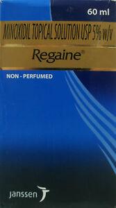 2 X Regaine Minoxidil Topical Solution USP 5% Hair Loss Regain Treatment - 60ml