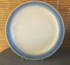 American Crafts Original Longaberger Blue Heart Platter 13-5/8in U.S.A.