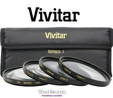 Vivitar 4Pcs Close Up Macro +1/+2/+4/+10 Lens Kit For Nikon D5000 D3000