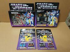 Transformers Walmart Reissue lot Starscream Soundwave Frenzy Laserbeak Ravage