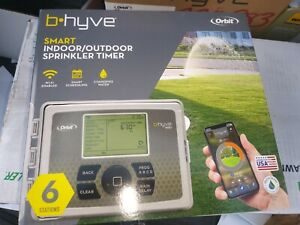 Orbit 57946 B-hyve Indoor/outdoor 6 Station WiFi Sprinkler System Controller