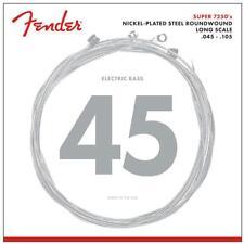 Nickel-Plated Steel LONGSCALE Cordes de Fender pour 4-Saiter E-Bass .045 - .105