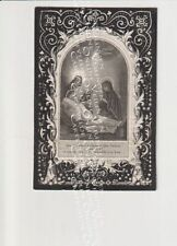 Oud Doodsprentje Temse Th. Carels 1859 ( Type 2)