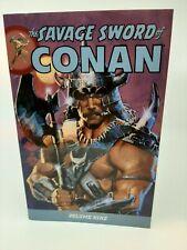 The Savage Sword of Conan Volume 9 by Fleischer, Michael