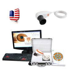 USA 5.0 USB LED Iriscope Iris Analyzer Iridology Camera Pupilometer+Software+Box