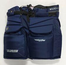 """New Vaughn V7 XF Pro Sr. Goalie Pants senior Large 38"""" ice hockey goal Blue"""
