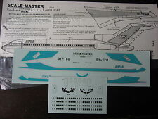 1/144 SCALE-MASTER DECALS BOEING 727-78 BWIA BRITISH WEST INDIA AIRLINES