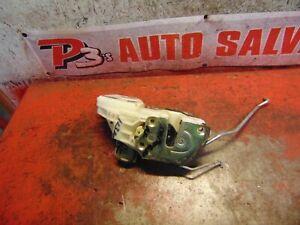 04 03 02 00 Mitsubishi Montero sport right front door latch power lock actuator