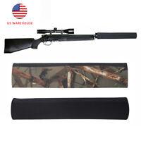 Tourbon 4mm Neoprene Suppressor Silencer Cover Rifle Airgun Barrel Holder 2 Pack
