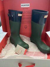 Hunter Original Tonal Contrast Rain Boot Size US Girls 6Y/ UK 4/ EUR 37