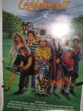 CADDYSHACK II original video promo poster - 1988 - rolled