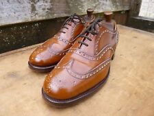 CHURCH VINTAGE BROGUES – BROWN / TAN - UK 8.5 – BURWOOD - SUPERB CONDITION