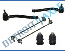 New Front Outer Tie Rods + Lower Ball Joints + Sway Bars Fits Santa Fe Sorento