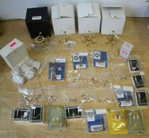 JobLot Dollhouse Miniature Lights / Electric Lights - Chandelier etc(Hospiscare)