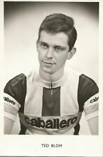 Cyclisme, ciclismo, wielrennen, radsport, cycling, TED BLOM