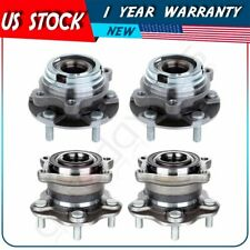 Set 4 Front & Rear Left or Right Wheel Hub Bearing Fits Nissan Murano 2003-2007